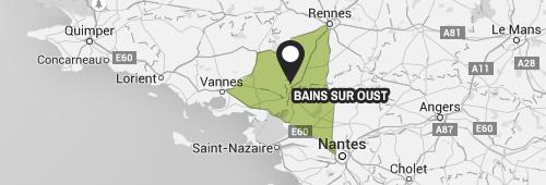Plan interactif de Bains-sur-Oust (35)
